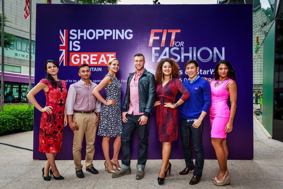 The GREAT campaign is a sponsor of the Fit For Fashion show featuring British brands and filmed in Malaysia