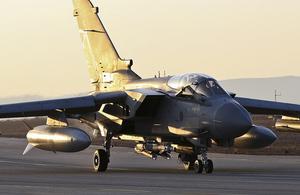 RAF Tornado [Picture: Corporal Neil Bryden RAF, Crown copyright]