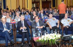 British Ambassador Peter Millett at the Homeland Security Summit in Amman