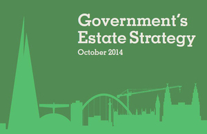 Government's Estate Strategy 2014 front cover.