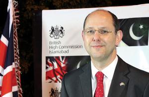 High Commissioner Philip Barton