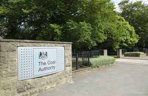 The Coal Authority's office