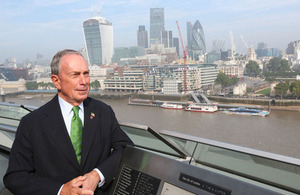 The Queen Awards Honorary Knighthood to Michael Bloomberg