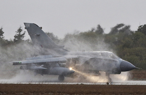 A Tornado GR4 at RAF Akrotiri [Picture: Corporal Neil Bryden RAF, Crown copyright]