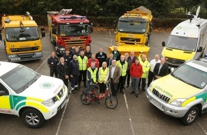 Leicestershire and Rutland partners at the launch of 'Aware and Prepared'