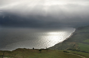 Photograph of Lyme Bay