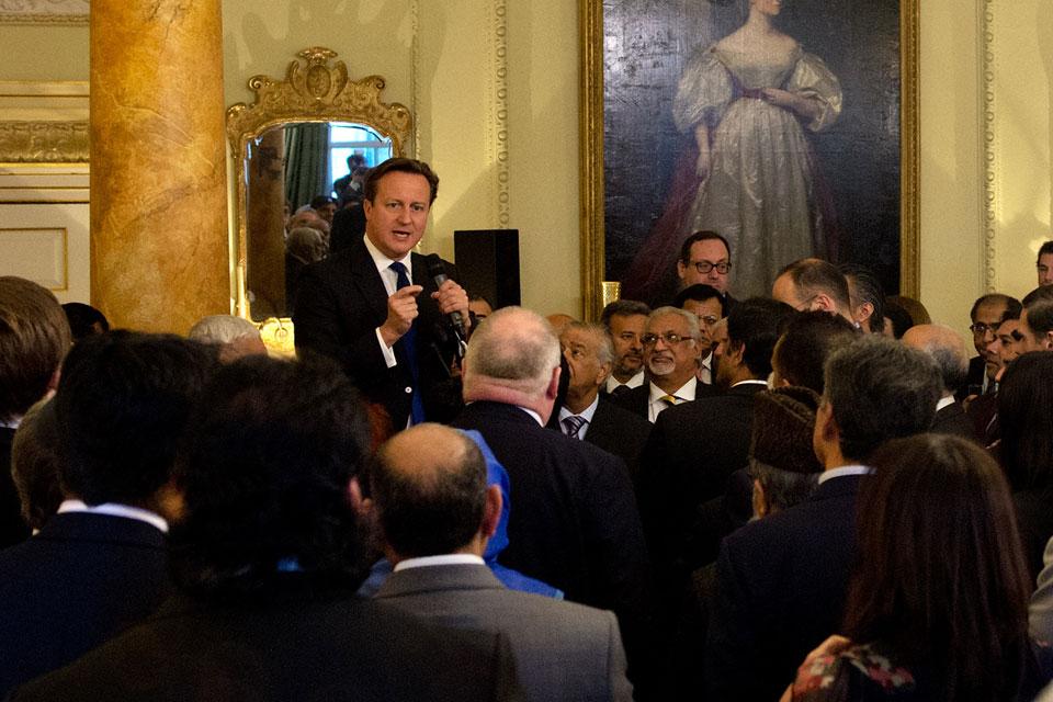 PM hosts Eid Reception
