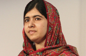 Malala Yousafzai speaking at the recent Girl Summit 2014. Picture: Russell Watkins/DFID