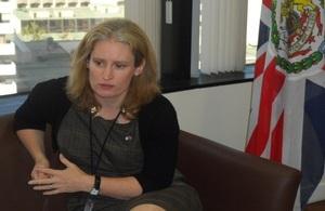 Embajadora Sarah Dickson
