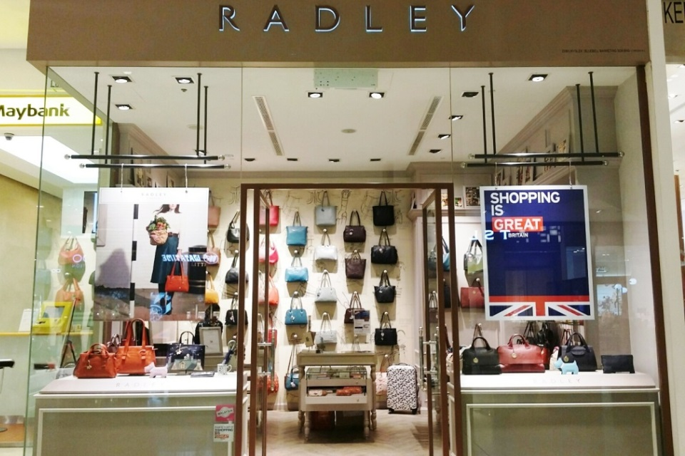 Radley are one of a number of British brands participating in the competition