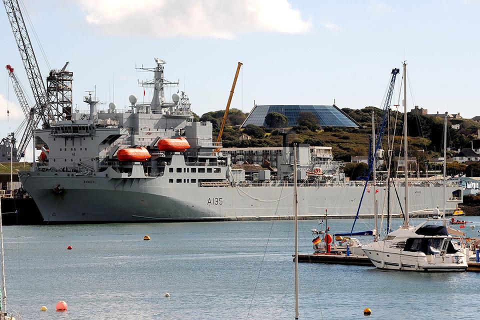 Royal Fleet Auxiliary Argus