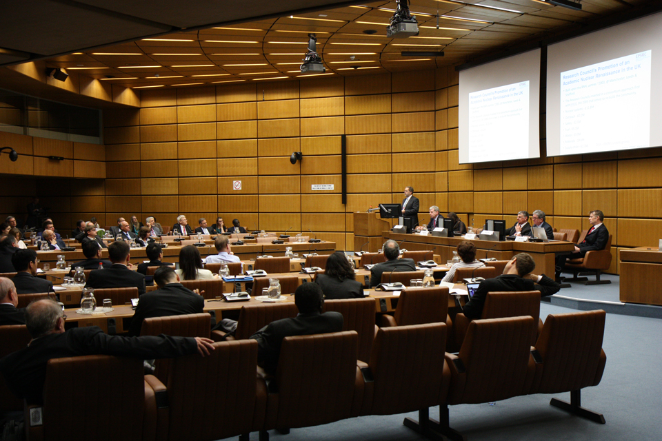 UK sponsored side-event at the 58th IAEA General Conference, 2014