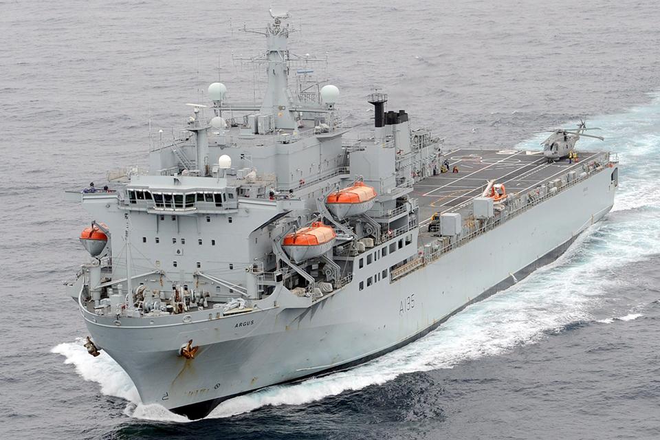 Royal Fleet Auxiliary ship Argus