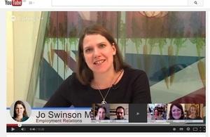 Jo Swinson Google Hangout