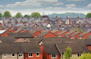 Social housing skyline.