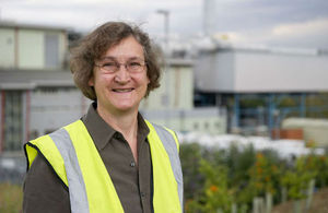 Dr Paula Carey, Managing Director of Carbon8 Systems