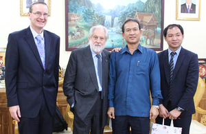 Lord Puttnam meets President of National Chamber of Commerce