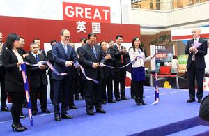 British Ambassador and Vice-Mayor of Shenyang launch biggest ever celebration of UK-Shenyang links.