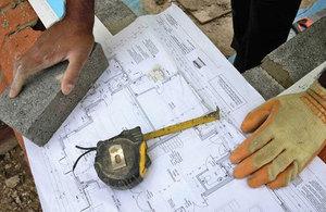 Building plans.