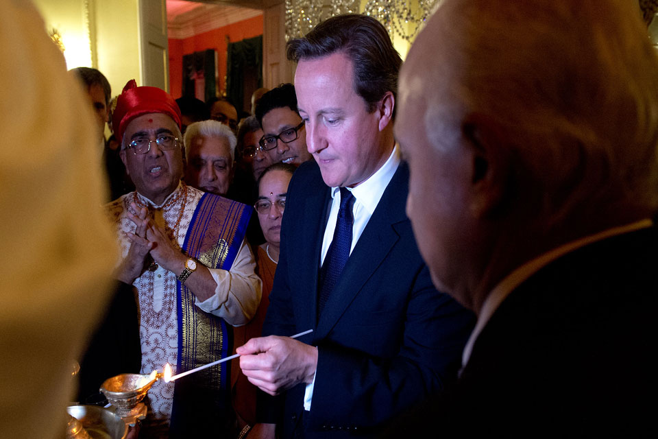 PM hosts Diwali reception