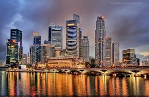 Singapore skyline by Christopher Chan on Flickr. Used under Creative Commons.