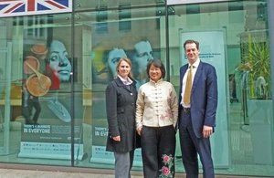Philippa Mullett and Richard Mullett of The Legal Partners with Chinja expert Iris Cai
