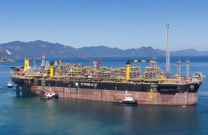 Petrobras P57 FPSO with Heatric PCHE heat exchangers on board
