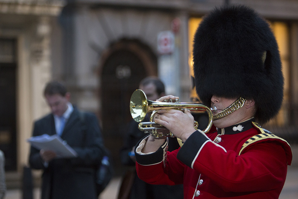 Bugler Ben Beavis, Grenadier Guards