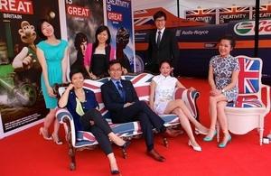 Hong Kong scholars celebrating Chevening 30th anniversary