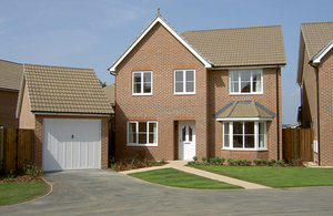 A new-build service family home at Lee-on-the-Solent near Portsmouth (library image) [Picture: Crown copyright]