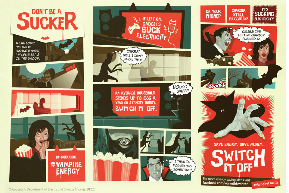 Infostrip: Don't be a sucker. Switch it off.