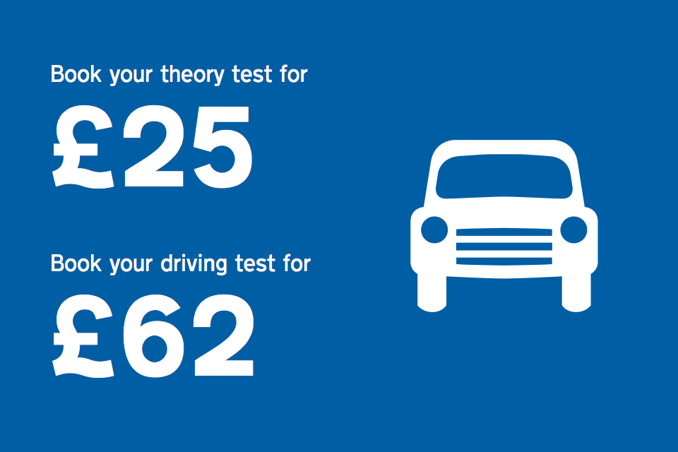 Driving test costs