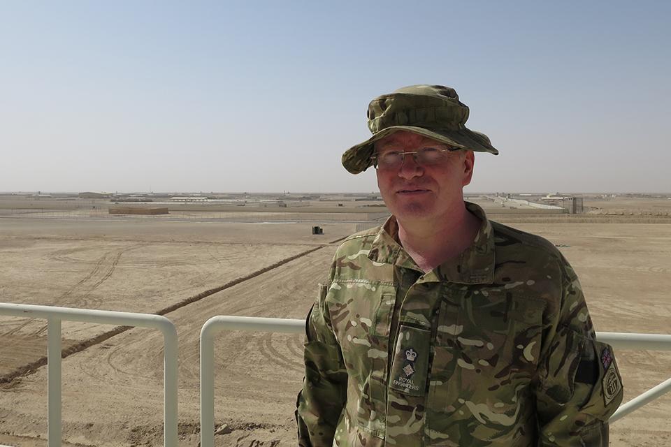 Lieutenant Colonel Laurence Quinn