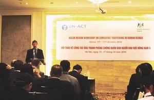 UK Ambassador Mr Giles Lever opened the workshop