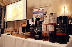 The Scotch Whisky sampling event that is part of the 100 Years celebrations