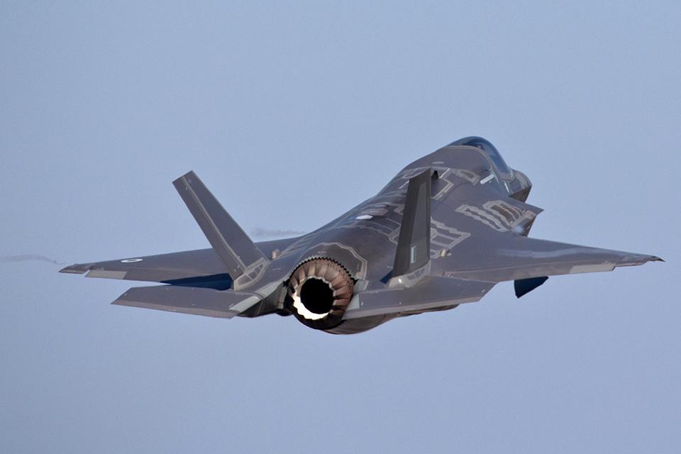 An F-35 Lightning II aircraft