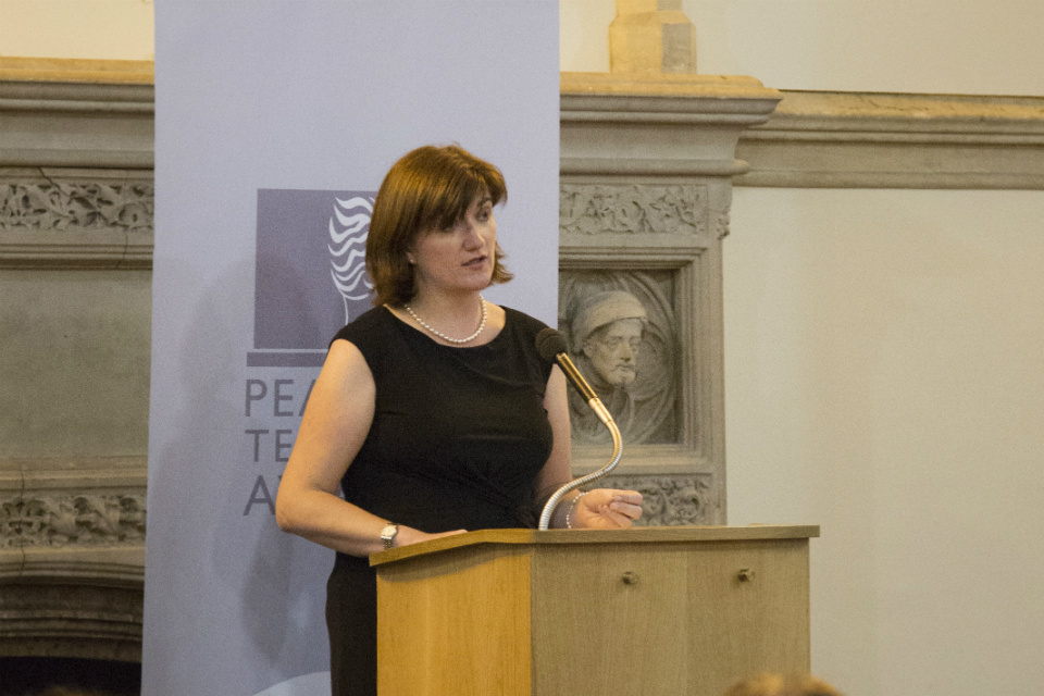 Nicky Morgan speaking