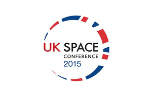 UK Space Conference logo.