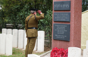 Remembrance Sunday Service in Albania