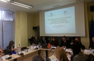 Sharing British practices on judicial appointments with Macedonia
