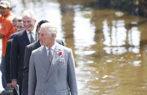 El Príncipe Carlos en Xochimilco