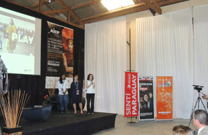 International Fashion Congress in Paraguay featuring experts from the London College of Fashion