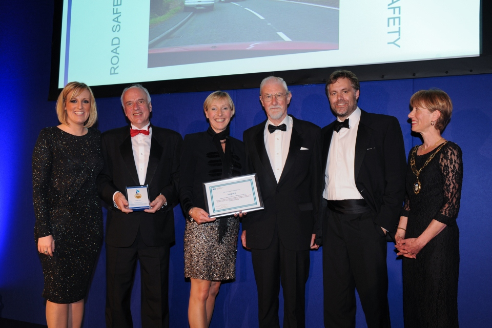Collecting the CIHT award