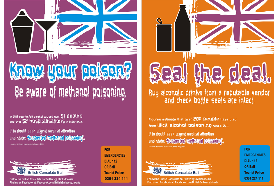 Methanol Poisoning Awareness Campaign