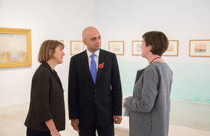 Sajid Javid at Turner Contemporary