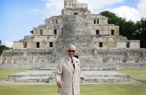 Príncipe Carlos en Edzná