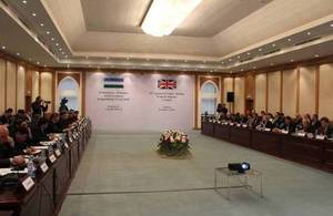 Uzbek British Trade and Industry Council meets in Tashkent