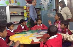 Students at work & play at MENCAFEP school for children with disabilities, Nuwara Eliya