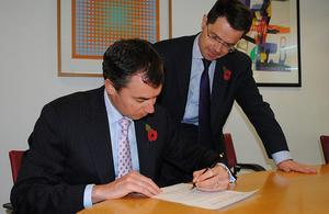 MOU signing