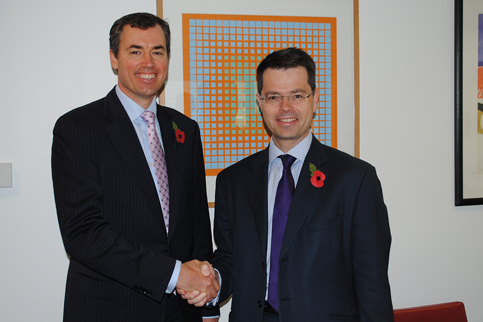 Michael Keenan and James Brokenshire